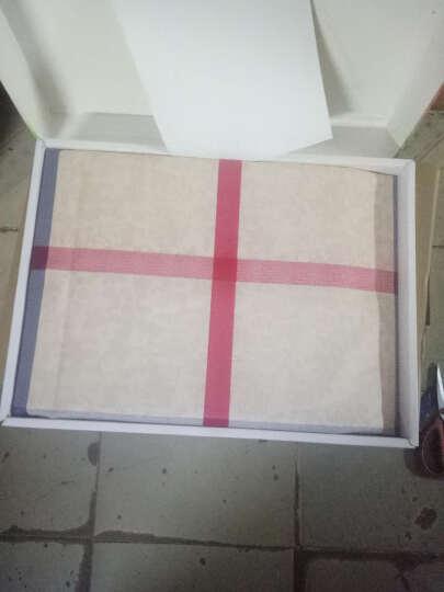LICHANG床单三件套纯棉睡毯老粗布加厚双人床单全棉床单单件1.5米1.8米单人双 田园格 2.0*2.3(三件套) 晒单图