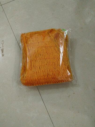 渔得利(yUDELI) 十八股线鱼护网袋简易折叠渔护鱼袋平底加宽鱼护网兜渔网渔具龙虾网 束口1.45米长(黄色) 晒单图