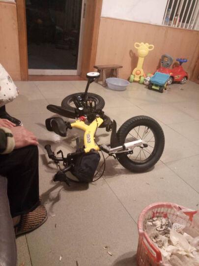优贝(RoyalBaby)小飞熊儿童自行车 小男孩女孩自行车山地减震单车 黄色 14寸 晒单图