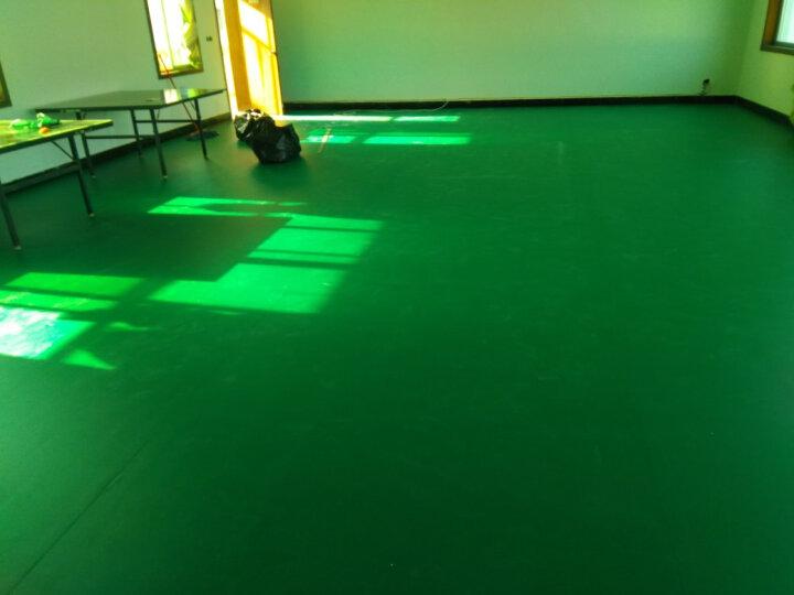 欧百娜健身房地垫PVC塑胶运动地板羽毛球地胶乒乓球场地防滑地胶垫 宝石纹4.5我们安装 晒单图