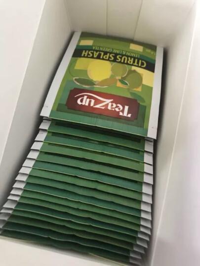阳光赞(Teazup)斯里兰卡进口 劲爽柠檬味绿茶1.8g*20包 进口茶叶袋泡绿茶包 36g 晒单图