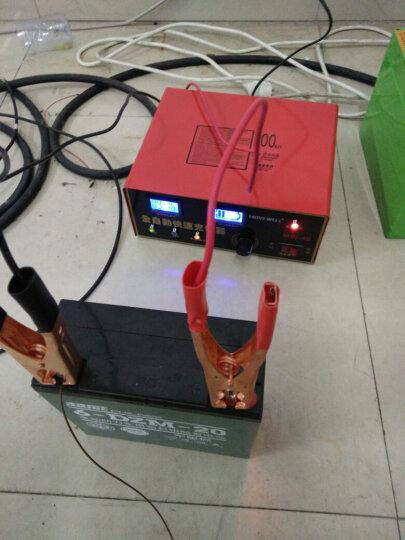 Movewell 大功率智能数显快速汽车货车卡车智能电瓶充电器12V24V充电机 晒单图