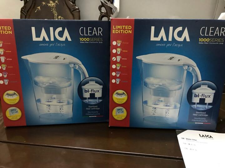 莱卡(LAICA)滤芯3只装 F3M双导流过滤器 8周长效5重过滤 家用滤水壶净水壶净水器滤芯 晒单图