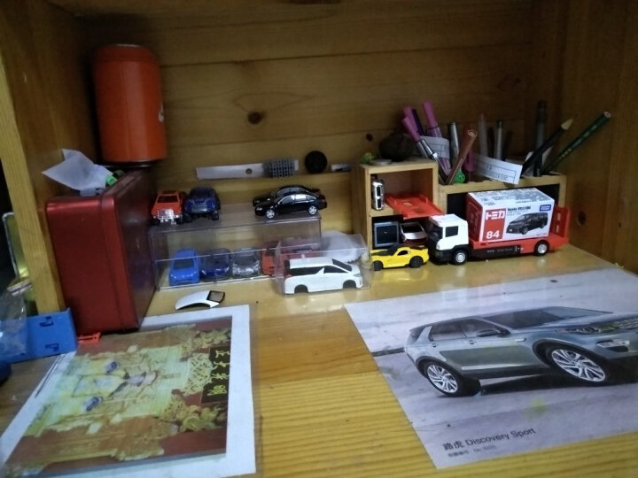 TAKARA TOMY/多美卡仿真合金车模玩具61-90号 72号日野观光巴士 824879 晒单图