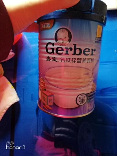 嘉宝(Gerber ) 钙铁锌营养麦粉一段(辅食添加初期) 225g 晒单图