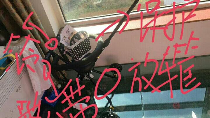 【限时领券立减10元】溜娃神车遛娃神器升级软座婴儿推车三轮车轻便婴儿车五轮出行宝宝车四轮手推车简易 升级黑色刹车款高配红色伞 晒单图