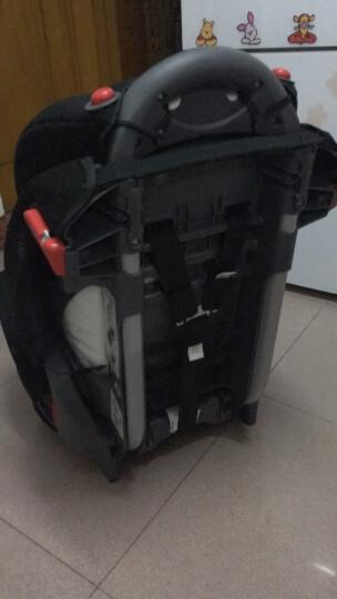 葛莱 美国GRACO鹦鹉螺系列宝宝儿童汽车安全座椅8J96 8J58 9月-12岁 8J39精英版粉色 晒单图