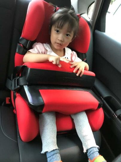 乐檬RooMeye儿童安全座椅汽车用9个月-3-4-7-12岁 婴儿宝宝新生儿车载安全椅isofix 绿色 晒单图