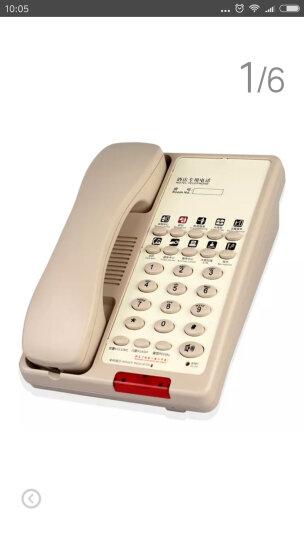 金顺迪 HCD1886TSD 酒店 宾馆 客房专用电话机 商务座机 壁挂电话机 分机 03款 米白色 晒单图