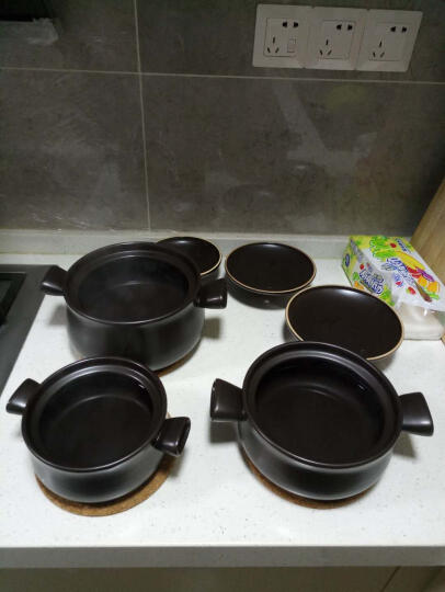 苏泊尔supor砂锅·陶瓷煲·新陶养生煲·深汤煲/T1346Q (1L+2.5L) 晒单图