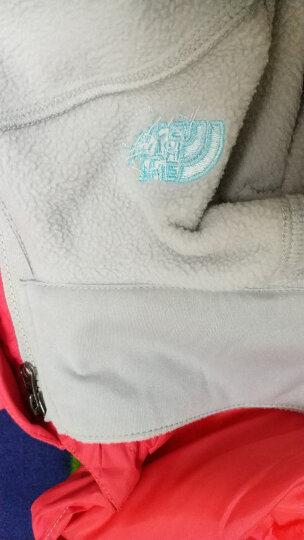 【经典款】TheNorthFace北面女三合一户外防水秋冬冲锋衣外套|3CGU G14/粉红 M 晒单图