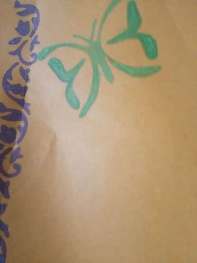 乐趴镂空绘画板diy相册配件材料主题花边画画工具模版画图 5号蝴蝶 晒单图