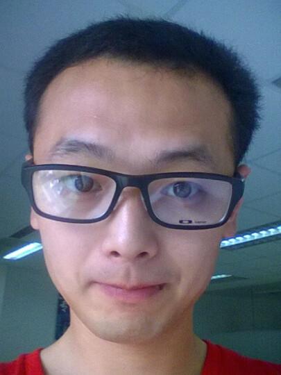 OAKLEY 欧克利 OX 8045 运动款 近视光学眼镜架 0755 黑黄/黄绿色logo 晒单图
