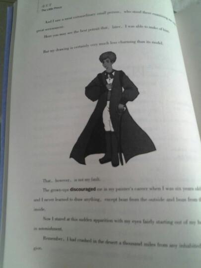 全新正版 任选三本包邮 小王子 读名著学英语 最好的礼物 中英文对照英汉对照初中高中生必读 晒单图