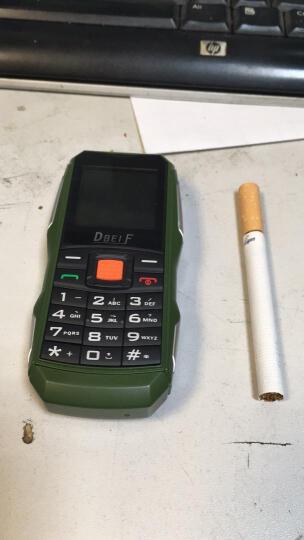 东北丰(DBEIF) 东北丰F7 移动/联通2G 电霸三防迷你老人手机 绿色 晒单图