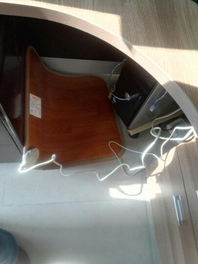 问暖碳晶移动地暖垫取暖器 韩国便携电热地毯 办公室移动暖脚垫 电热垫电地暖 高温速热电热板60*50 LG8143 晒单图