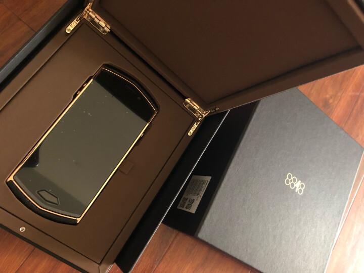 8848 钛金手机 M4巅峰版 智能商务加密手机 全网通4G双卡双待 2100万像素128G 牛皮黑色 晒单图