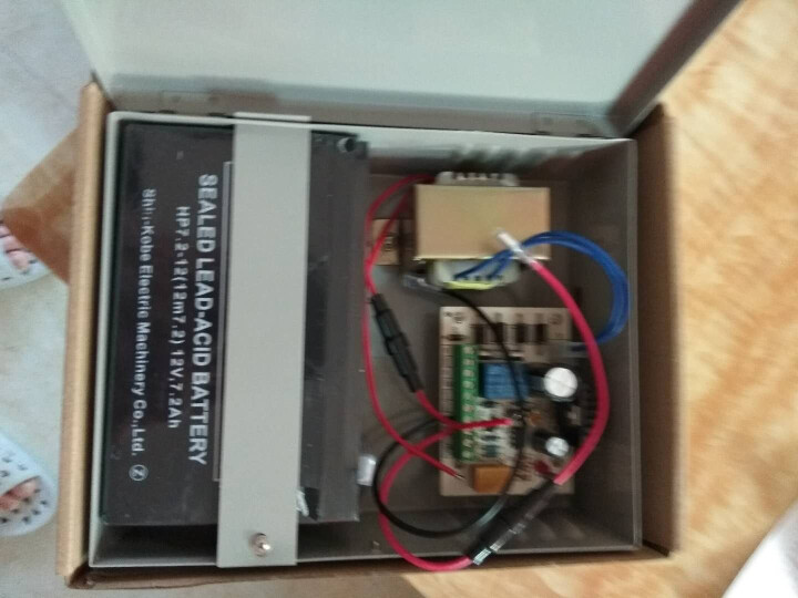 saful 3A门禁后备电源 12VUPS蓄电池控制器 电子门禁变压器 供电器 晒单图