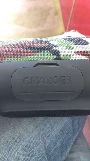 JBL Charge3 音乐冲击波三代 便携式蓝牙音箱 低音炮 户外迷你音箱 防水设计 可免提通话 迷彩定制版 晒单图
