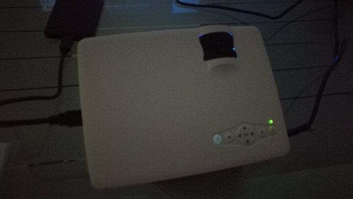 办公家用投影机 LED微型高清投影仪 3D便捷手机迷你KTV 套餐二安卓版 (安卓系统+无线蓝牙) 晒单图