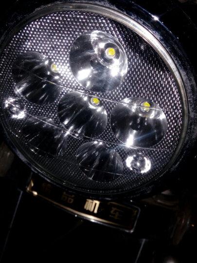 魅星 摩托车改装led高亮聚光前大灯半总成大太子小太子LED前大灯 三轮车 电动车改装配件 小太子led大灯 晒单图