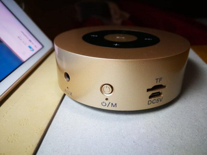 科凌A8 无线蓝牙音箱迷你音响闹钟家用便携式车载低音炮户外插卡手机电脑笔记本小钢炮微信收款语音播报器 深空灰标准版 晒单图
