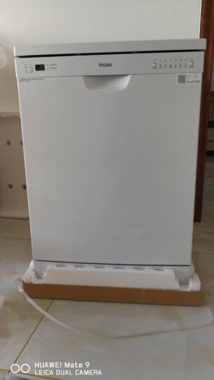 海尔(Haier)14套 超大容量 易安装 智能感应洗 升级除菌洗  家用独立式 嵌入式两用 家用洗碗机 EW14718 晒单图