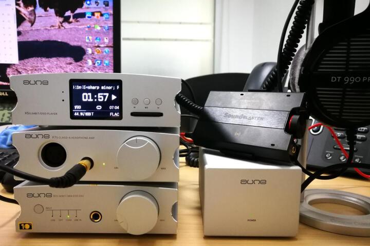 奥莱尔aune X7S 甲类耳机放大器 2018款单端平衡双输出 大驱动耳放 声音温暖 银色 2018升级新款 全新标配 晒单图