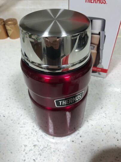 膳魔师(THERMOS) 焖烧杯不锈钢真空焖烧罐大容量保温饭盒SK-3020 咖啡色 710ML 晒单图