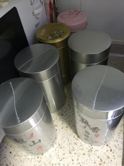 喜味香 进口手工乌龙茶叶台湾高山茶冻顶乌龙茶熟香型150g/罐手採茶 晒单图