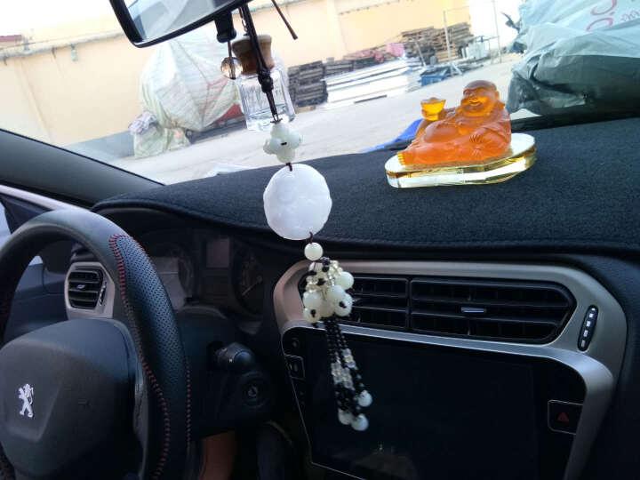 维诺亚 标致汽车仪表台避光垫遮阳遮光垫工作台中控前台隔热垫 防晒垫 汽车内饰用品 新408 黑边 晒单图