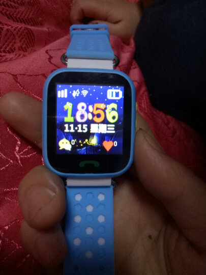 e路相伴 儿童电话手表小孩天才定位触屏拍照智能手表手机电信防水手环 电信版蓝色(多重定位+生活防水+礼品盒包装)M19 晒单图