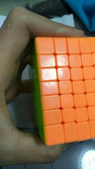 魔域文化 三阶魔方3阶套装245二四五阶比赛专用入门顺滑速拧礼盒 升级版3阶彩色 晒单图