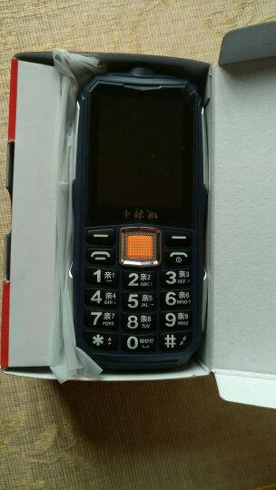 小辣椒 G108 三防老人手机移动户外直板老年机超长待机老人机手机大字大声 蓝色 官方标配 晒单图