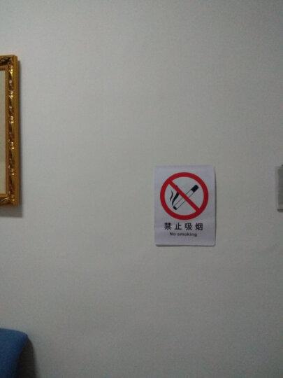 米卡邦消防安全标牌 消防荧光安全出口直行 夜光墙贴 疏散标识指示牌 方向指示牌 告示牌 消 发生火灾时 禁止使用电梯 晒单图