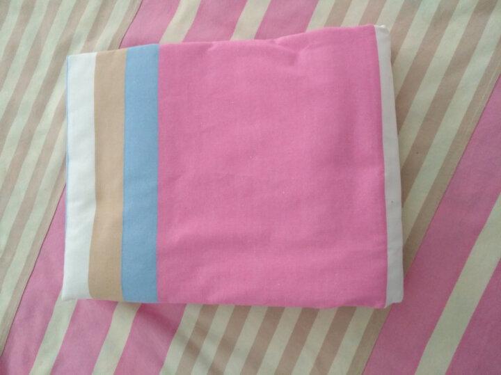 【起球包退】四件套纯棉老粗布床单被罩套 100%全棉床单套件双人床上用品加厚加密可定做 条纹8 2.0m拍下48小时发货 晒单图