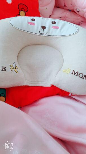 双漫婴儿枕头定型枕防偏头宝宝新生儿定型枕头纠正偏头 2019机智小猴款 单枕套(彩棉款) 晒单图