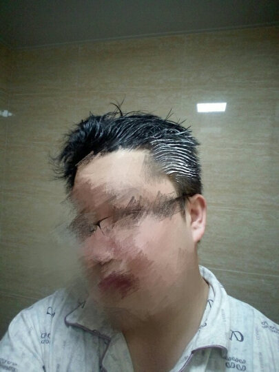 藤井 [2件8折 3件免1]染发剂 染发膏一梳黑洗梳子魔法植物泡泡沫 天然 日本进口技术 二梳加四组(原栗色/酒红)染发膏 晒单图