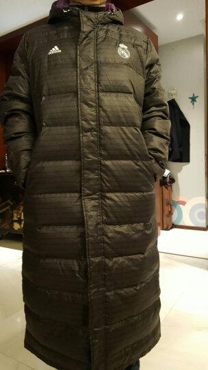 Adidas阿迪达斯羽绒服男装外套2021春季新款运动服保暖防风舒适羽绒夹克上衣BQ2001 GF0108 2XL 晒单图