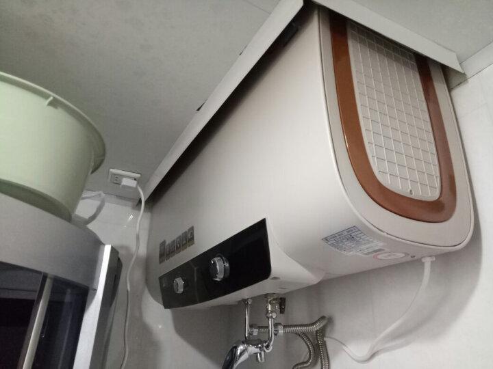史麦斯 (SMS)B21即热式电热水器储水式双内胆扁桶家用洗澡机40/50/60升速热节能 SMS-B21/60L/3000W双胆速热 晒单图
