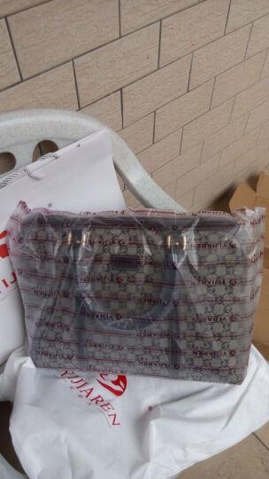忆佳人商务女式公文包女士电脑包女包通勤包 电脑包15.6寸手提包14寸苹果电脑包13.3寸笔记本包包 98099藏蓝色中号 晒单图