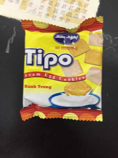 越南进口Tipo 面包干白巧克力鸡蛋牛奶味饼干300g*3袋装 糕点点心 办公室零食 晒单图
