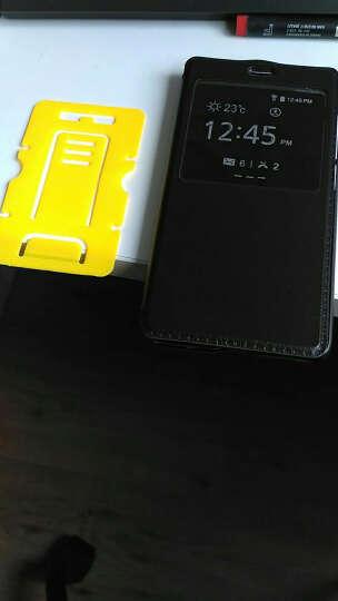 华浪 单开手机保护套/手机壳/皮套 适用于小米手机红米3高配版/增强版/指纹版/3S 黑色 晒单图