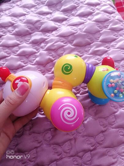 汇乐玩具 彩虹叠叠鸭手指启蒙学习琴爬行虫小孩宝宝早教益智婴儿玩具 启蒙彩虹八音琴909 晒单图
