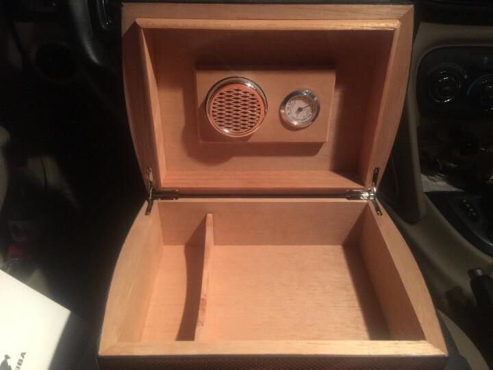 雪茄盒雪茄保湿盒雪松木雪茄保湿箱三层大容量 古巴雪茄烟具欧式雪茄柜雪茄烟烟柜 碳纤雪茄保湿盒 晒单图