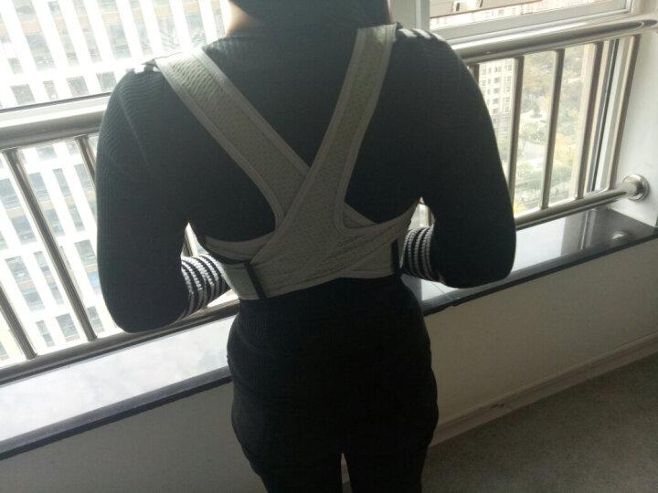 南极人(Nanjiren) 坐姿矫姿带 矫姿背心护腰带 学生儿童男士女士成人版 标准款 L 晒单图