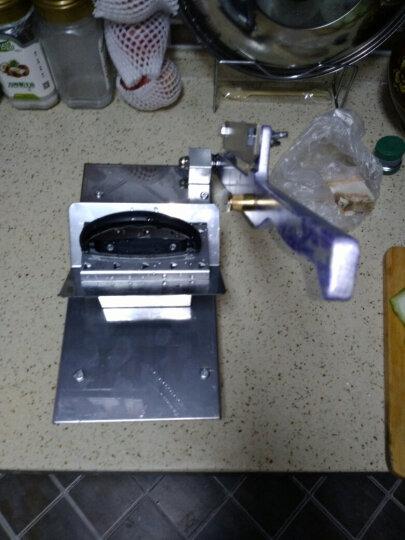 牛羊肉切片机家用手动刨肉机商用切肉机土豆切片机 胶木手柄SZ-228 晒单图