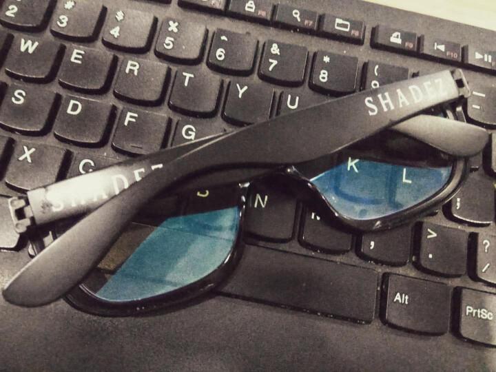 SHADEZ儿童防辐射眼镜视得姿瑞士防蓝光护目镜原装进口儿童眼镜 白色 7-16岁 晒单图