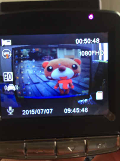 飞利浦(PHILIP) 飞利浦行车记录仪全景360度高清夜视双镜头迷你隐藏ADR920新品 黑色 官方标配+内存卡64G 晒单图