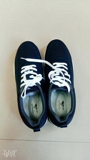 七匹狼(SEPTWOLVES)男士休闲板鞋低帮透气轻质系带网布鞋 灰色 40 晒单图